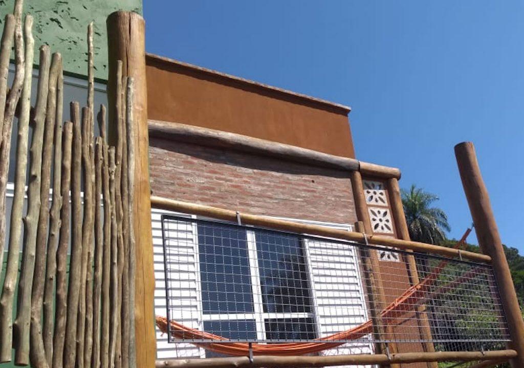 pousada viva brotas varanda com rede